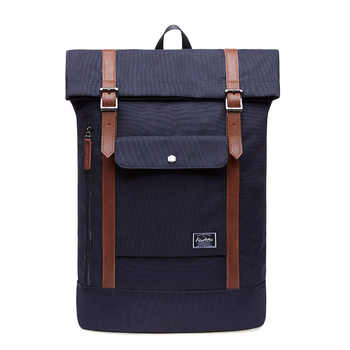 KAUKKO Leisure Backpacks for Laptop 15 Inches, Backpack Man Woman, Backpack Roll Top Travel Backpack - DISCOUNT ITEM  40 OFF Luggage & Bags