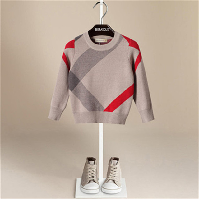 Toddler Boy Sweater Spring Autumn Baby Boys Pullover SZ 1-5 Years