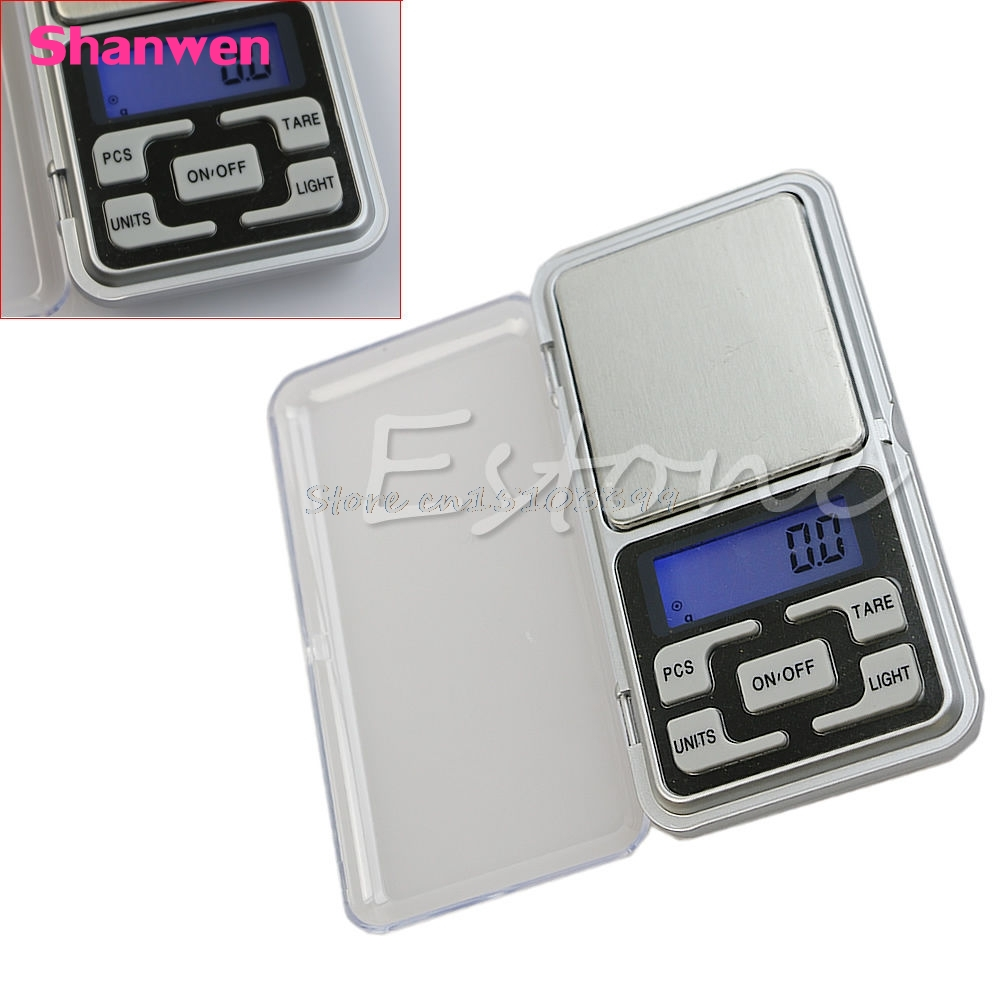 Nuevo 500g 0.1g Digital Pocket Scale Jewelry Precision Weight Electronic Balance G08 Whosale & DropShip