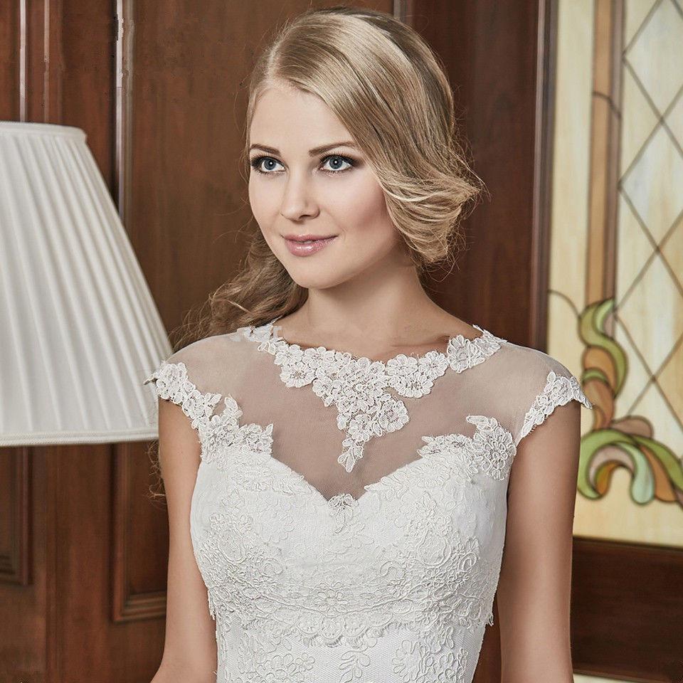 Sleeveless Wedding Lace Bolero Short Top Bridal Wraps For Wedding Dress Jackets