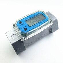 Цифровой Турбинный Расходомер бензин топлива caudalimetro Расходомер plomeria Насосные потока индикатор датчик Счетчик ДУ40 G1.5