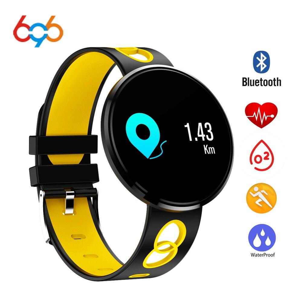 696 montre intelligente étanche CF006 Bracelet Sport Bracelet Fitness Tracker fréquence cardiaque pression artérielle Smartwatch pour Android IOS
