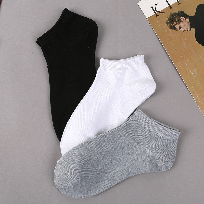 2019 men 39 s socks spring and autumn new cotton college wind casual breathable deodorant male socks in Men 39 s Socks from Underwear amp Sleepwears