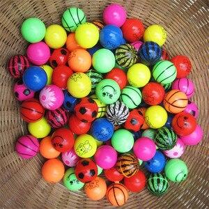 Image 4 - 30 teile/los Lustige spielzeug bälle Bouncy Ball Solide schwimm springenden kind elastische gummi ball von bouncy spielzeug 25MM