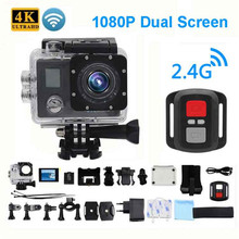 Ultra HD 4K Action Camera Wifi Camcorders 150 Dgreen cam 4 K deportiva 2 inch B6 B6R Waterproof Sport Camera pro 1080P 30fps cam