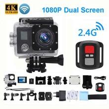 Ultra HD 4 K eylem kamera Wifi kameralar 150 Dgreen kam 4 K deportiva 2 inç B6 B6R su geçirmez spor kamera pro 1080 P 30fps kam
