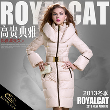 Royalcat Down Jacket Brand 2016 Winter Jacket Women down Jackets Parka duck down X-long Hooded Women's down coat Outerwear