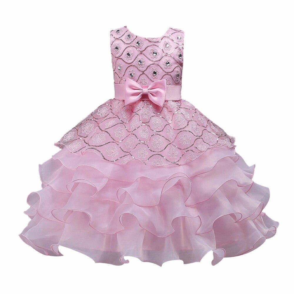Newborn Baby Girl Dress Princess 2018 New Infant Lace Kids Events ...