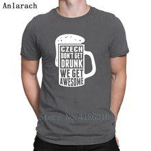 9db4517d802ff Czech Don t Get Drunk Tshirts Hiphop Plus Size 3xl Clothing Fitness Men T  Shirt 2018 New Fashion Cotton Unique Print