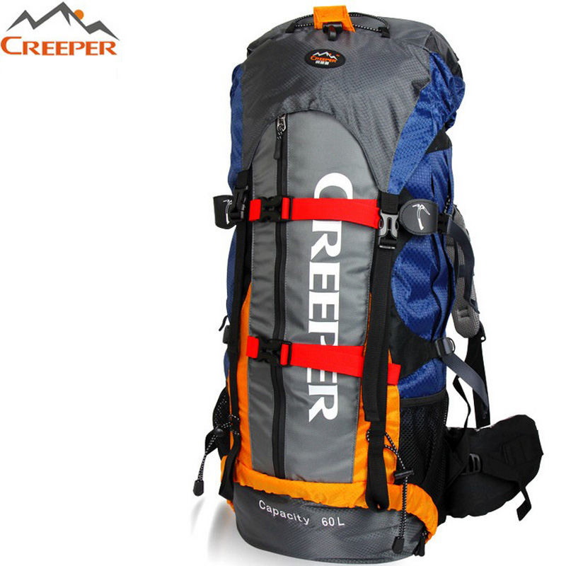 ФОТО Outdoor Travel Backpack Men Women Sports Backpack Hiking Backpack Mountain Hiking Bag Knapsack Camping Trekking Bag Backpacks