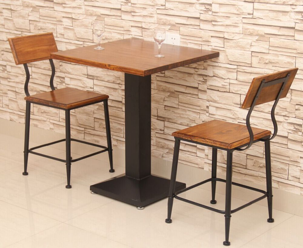 Table With Chairs Us 825 American Wood Deck Starbucks Cafe Dinette Tables And Chairs Combination Kfc Combination Tea Shop In Bar Furniture Sets From Furniture On