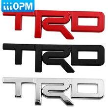 1 pçs corpo do carro tronco decoração rotulagem modificação do carro etiqueta para toyota trd corolla chr avensis rav4 camry acessórios do carro