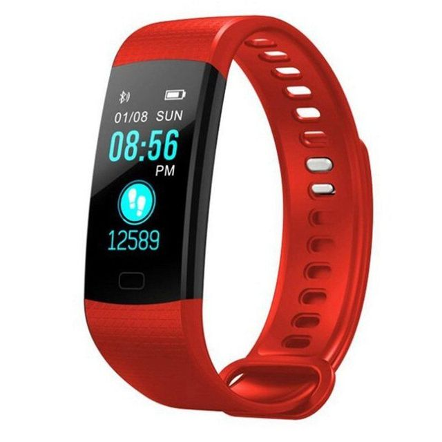 Fitness Activity Heart Rate Tracker Blood Pressure wristband Waterproof band Pedometer for IOS Android 3