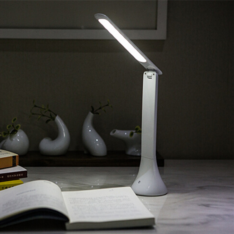Table Lamp Luminaria De Mesa Abajur Mesa Table LED Lamp Touch Table Luminaria LED Desk Chargeable Portable Foldable Abajur combo artway md 104 3 в 1