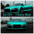 20cm*152cm Carbon Fiber Vinyl Film  Sticker Plating Matte Tiffany Blue Ice Film Vinyl Auto Wrapping Vinyl Fiber Motocycle Laptop