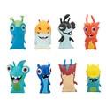 2016 New 8pcs/lot 5cm Anime Cartoon Slugterra Mini PVC Action Figures Toys Dolls Child Toys
