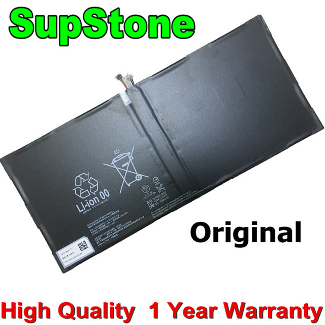 SupStone batterie 6000mAh, pour SONY Xperia, pour tablette Z2, 3.8 mAh, batterie originale, pour SONY Xperia, SGP511, SGP512, SGP521, SGP541, SGP551, V, nouveau