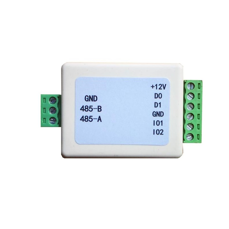 Wiegand Extender Wiegand RS485 Converter WG With Exit Button Switching Signal Bidirectional Transmission Access Control Reader