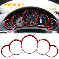 Abs electroplating instrument panel decorative ring Cover Car Accessories For porsche macan cayenne paramela Cayman boxster 911