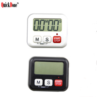 QuickDone 1Pcs Digital LCD Timer Kitchen Cooking Timer Sport 99 Minute Count-Down Up Clock Alarm Reminder Kitchen Tools AKC5283