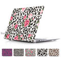 Case For Macbook Air 13.3 11.6 Fashion Leopard Floral Pattern Hard Cover Sleeve Shell for Macbook pro 13 15 with retina display