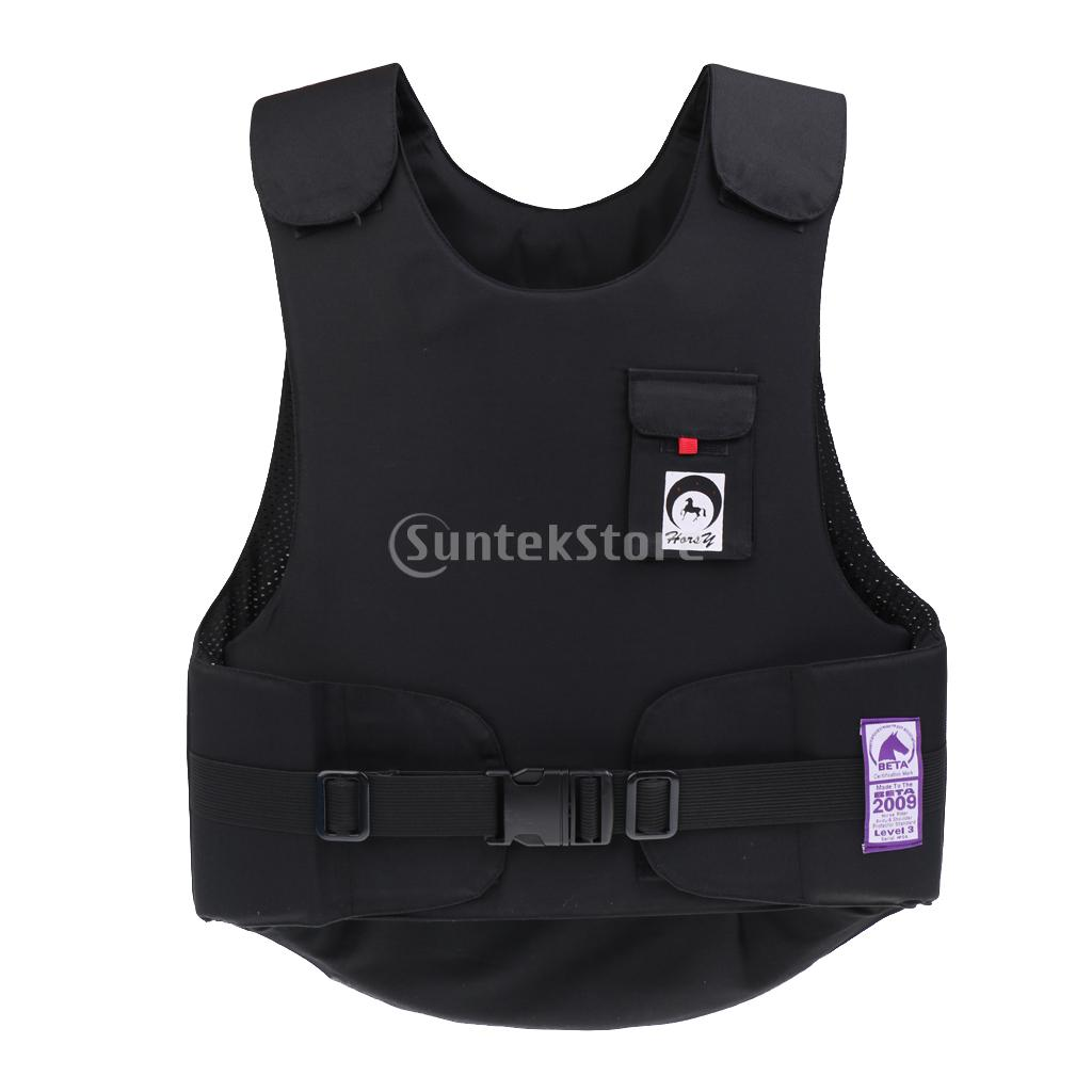 Unisex Equestrian Flexible Body Protector Horse Riding Vest BETA 2009 Level 3 - EVA Padded Waistcoat- S/M/L outdoor hunting equestrian body protector safety horse riding vest eva padded for adult xl l m s xs hunting vest camping access