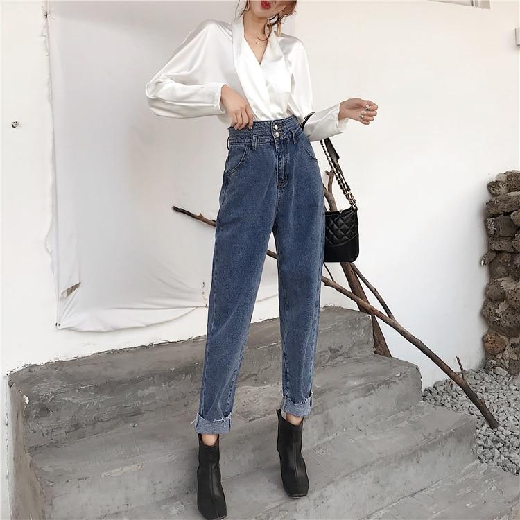 Jeans Grande Femminili In 8
