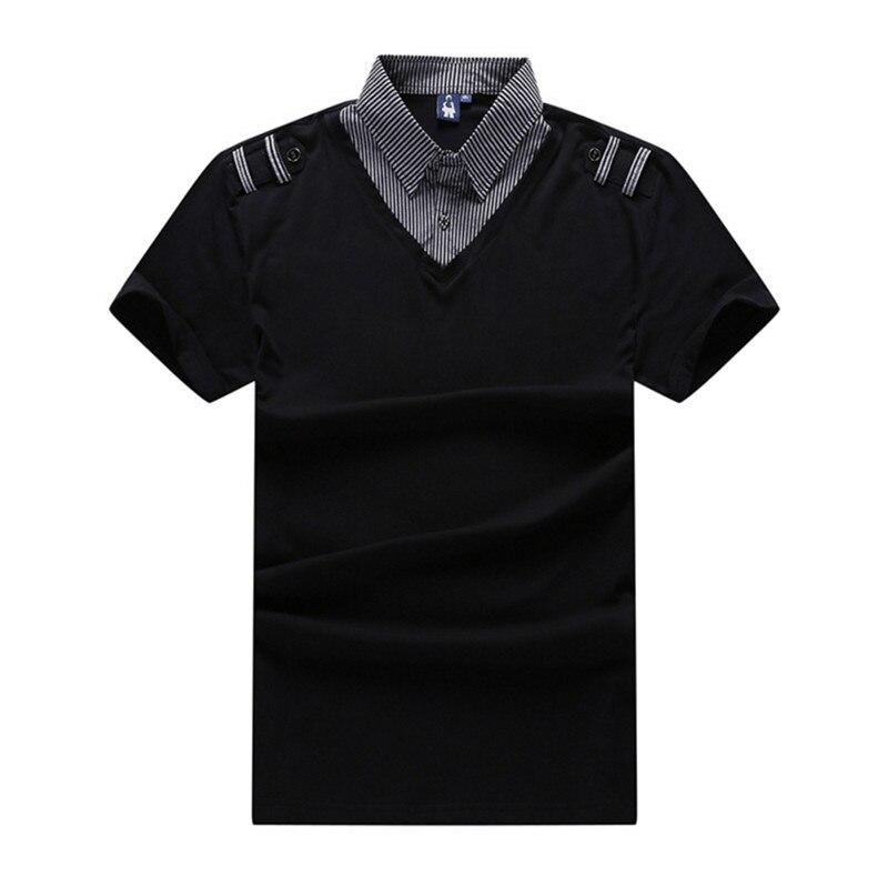 Masculino Camisa Plus Size 6XL 7XL Verão Polo Ocasional homme Roupas