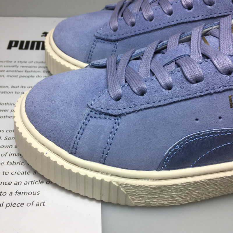 huge discount 668ce dc656 PUMA FENTY Suede Cleated Creeper Women's First Generation ...