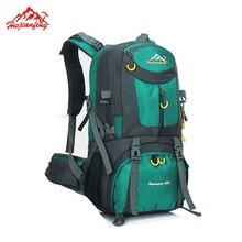 New Outdoor Backpack 40L Camping Bag Waterproof Mountaineering Packsack Hiking Backpacks Molle Sport Bag Climbing Rucksack