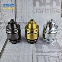 Kim loại nặng cơ sở gốm Vintage Retro phong cách Solid Brass copper UL/CE Ổ Cắm Ánh Sáng Cổ Vintage Edison Công Nghiệp đèn ch