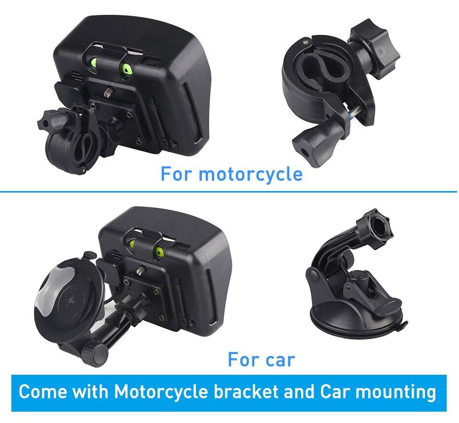 Fodsports 5.0 düymlük Motosiklet GPS Naviqasiya 256MB 8GB Sensorlu - Avtomobil elektronikası - Fotoqrafiya 5