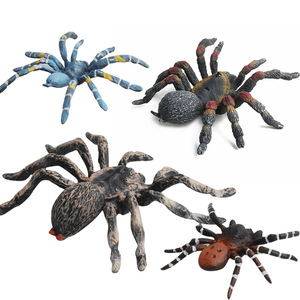 Image 3 - High Quality Simulation Insects Model Toys Mantis Bees Butterfly Spider Animal Model Collection Toys for Kid Children Gifts