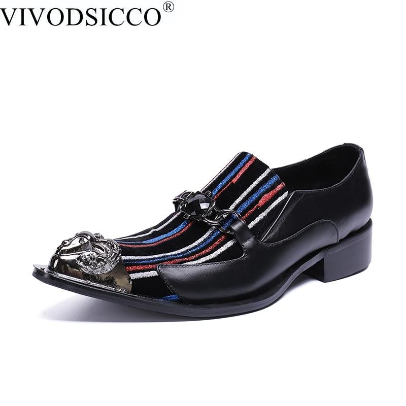 Marca Boda Vestido Formal Zapatos Calidad Tamaño Encaje Multiple De Oxford Los Puntiagudos Gran Hombres Vivodsicco tw7qP7
