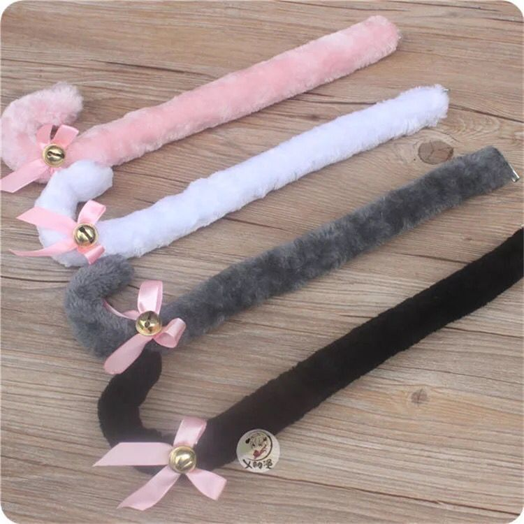 Kawaii Cute Neko Cat Girl Sweet Cute Kitten Cat Maid Cosplay Roleplay Cosplay Anime Cat Ears Gloves Set Paw Tail Ear Tie Party