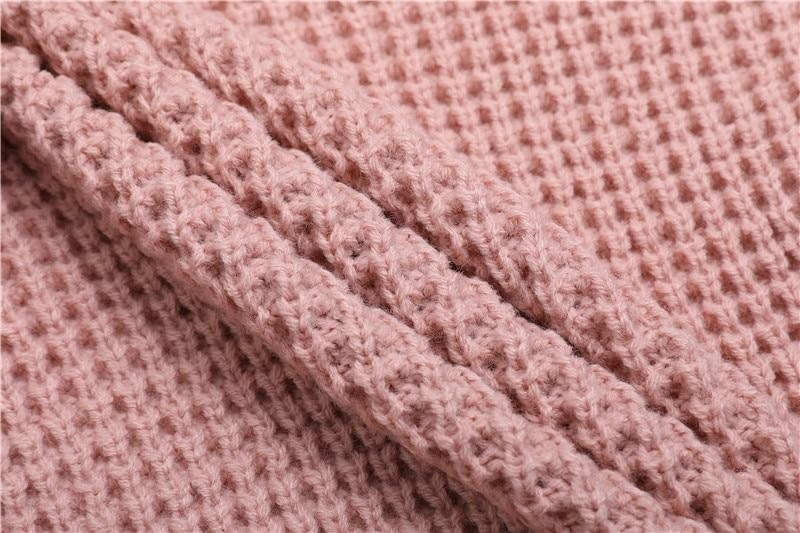 Fall Winter Vintage Mustard Side Slit Crochet Sweater Dress for Women Cute Ladies Retro Cosy Loose Split Pullover One Size 48