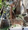 Venda de férias 1 pc 35 cm anime de Madagascar girafa de pelúcia boneca de brinquedo de presente de aniversário