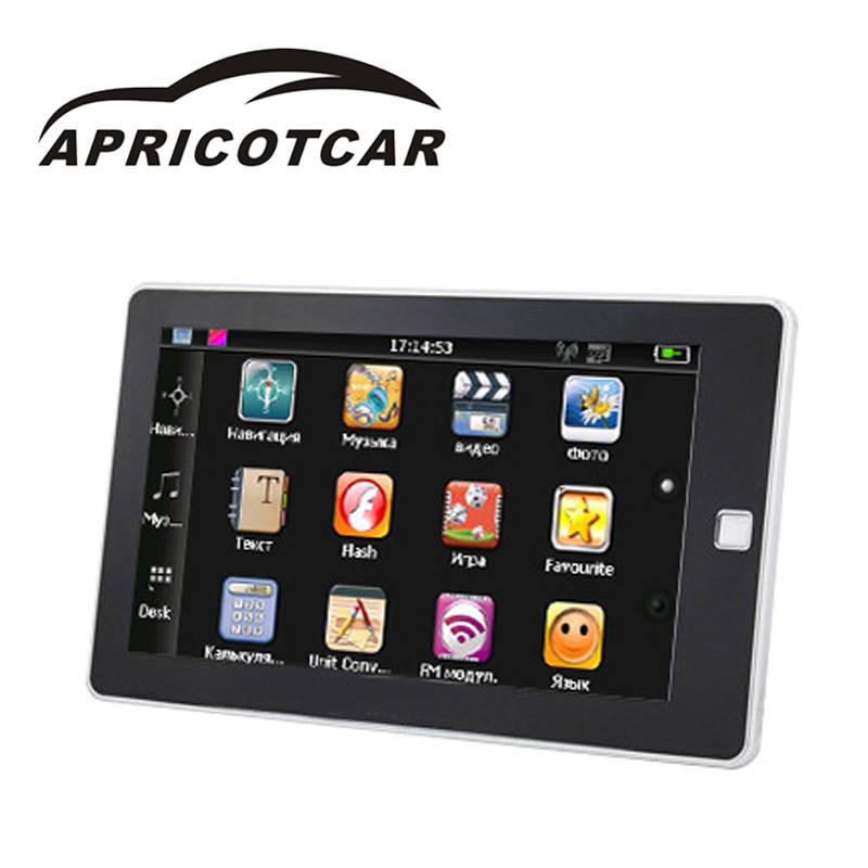 APRICOTCAR Car GPS Navigator 7 Inch Button External Portable Navigation Explosion Hot Sell HD Radio Automotive Multimedia Player 2 din car radio mp5 player universal 7 inch hd bt usb tf fm aux input multimedia radio entertainment with rear view camera