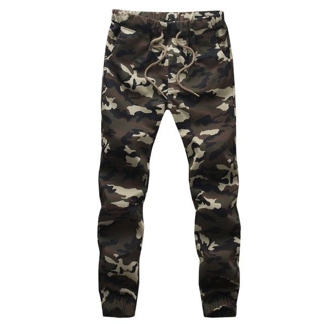new arrivals fashion men camouflage military pants joggers sweatpants   trousers 5XL ACL24