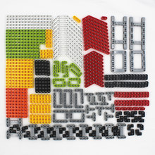 229pcs technic series parts car model building blocks set compatible with lego for kids boys toy building bricks Beam MA229(China)