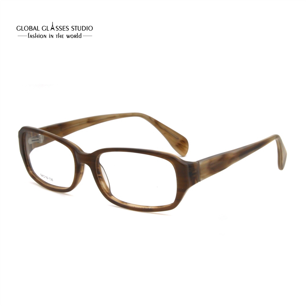 New Men Women Brown Color Acetate Eyeglasses TS4005-C70