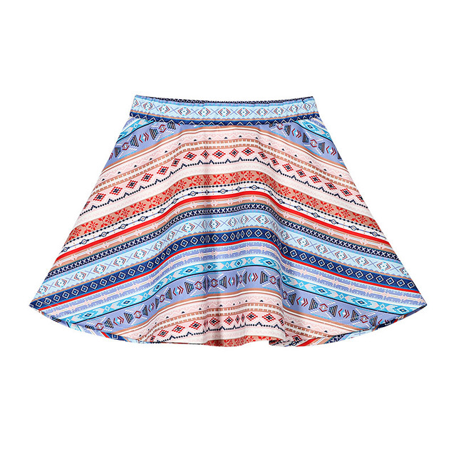 Fashion Teenage Girls Skirt Mini Top Qualily Skrits For Girls Kids A-line Spring Summer National Style Casual baby Girls Clothes