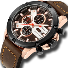 New Watches For Men Luxury Brand CURREN Chronograph Casual S