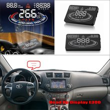 цена на For Toyota Highlander Kluger 2010 2011 2012 - Car HUD Head Up Display  - Saft Driving Screen Projector Refkecting Windshield