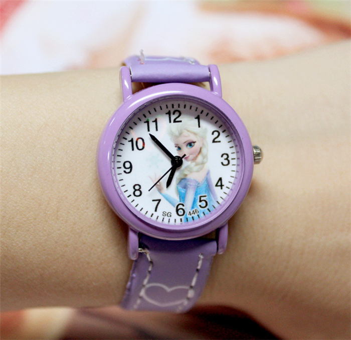 Small Round Dial Cartoon Watch Sports Fashion Watches Boys And Girls Colorful Children Quartz Watch