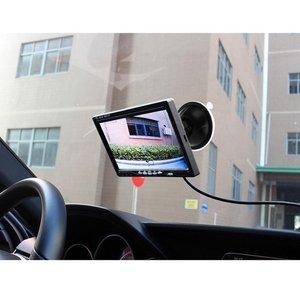 """Image 4 - Podofo 7 """"bölünmüş ekran dörtlü monitör 4CH Video girişi cam tarzı park araba için gösterge paneli dikiz kamera araba araba styling"""