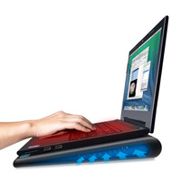 TeckNet Laptop Cooling Pads Notebook Stand 2 Fans Cooler Fits 9 16 Inches For Laptop PC