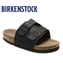 Купить с кэшбэком 2019 Original Birkenstock Slippers Women Summer On Beach Slides Sandals Party Shoes Women Unisex Shoes Modis 806 Slipper