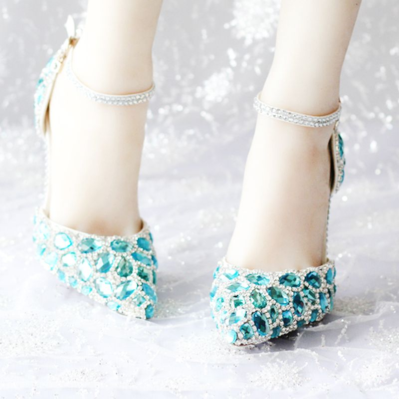 Blue red bottom heels online shopping-the world largest blue red