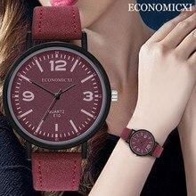 Luxury Top Brand Women's Watch Waterproof Wristwatch Leather